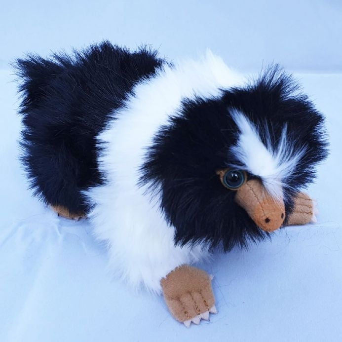 The Noble Collection Mini Baby Niffler - Black & White | Buy now at The G33Kery - UK Stock - Fast Delivery